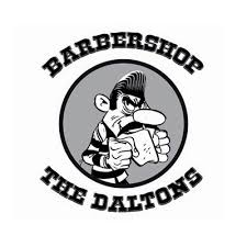 Logo Barbershop The Daltons