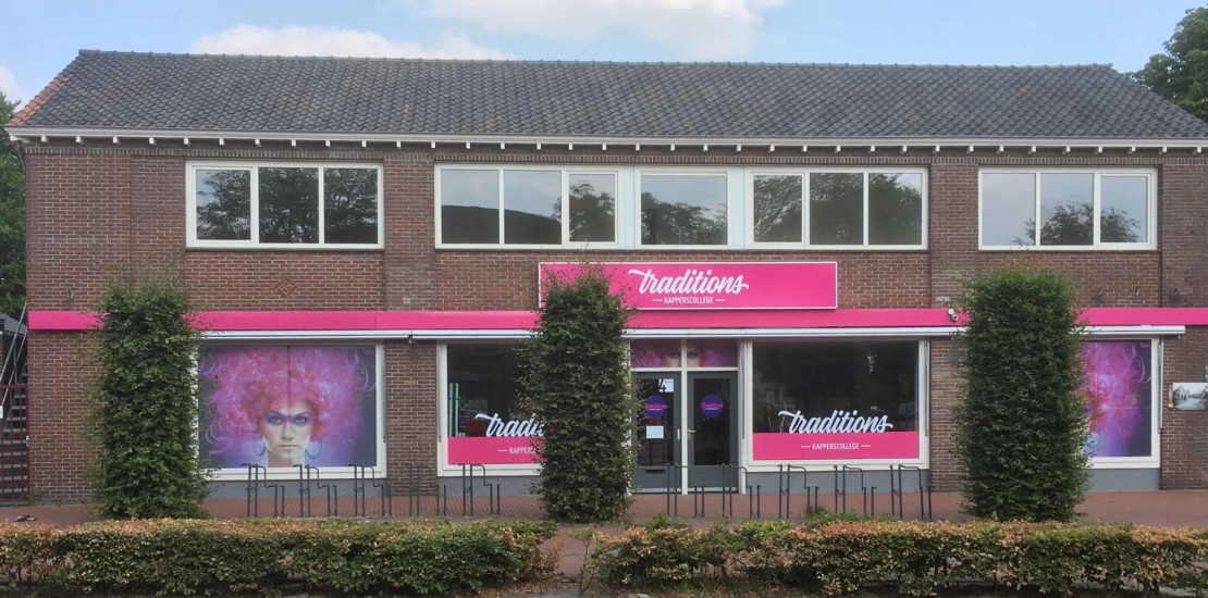 Foto pand Traditions Kapperscollege Veldhoven
