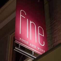 Logo Fine food and wine