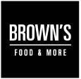 Logo Brown's Food and More