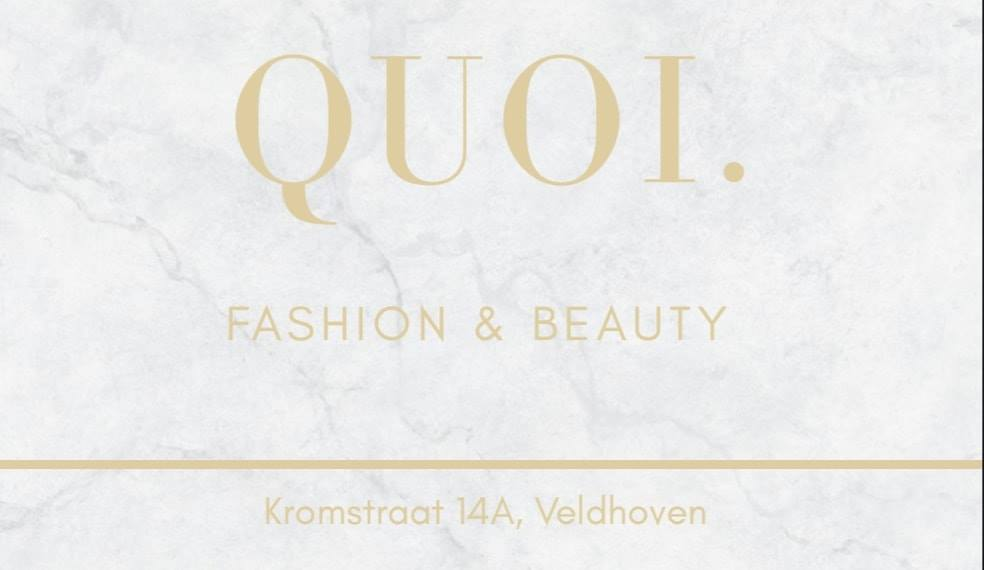 Logo QUOI Fashion & Beauty
